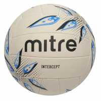 Mitre Intercept Netball White Нетбол