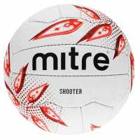 Mitre Shooter Netball White Нетбол