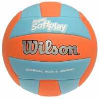 Bsl Super Soft Play Volleyball Blue/Orange Волейбол