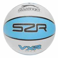 Slazenger Vxr Basketball 00 Grey/Blue Баскетболни топки