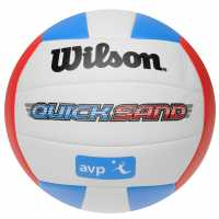 Wilson Avp Quick Sand Volley Ball White/Blue/Red Волейбол
