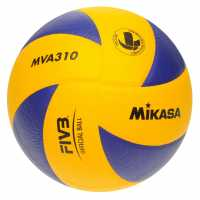 Mikasa Mva310 Volleyball Blue/Yellow Волейбол