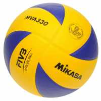 Mikasa Mva 330 Volleyball Blue/Yellow Волейбол