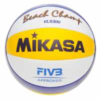 Mikasa Vls300 Beach Volleyball Blue/Yellow Волейбол