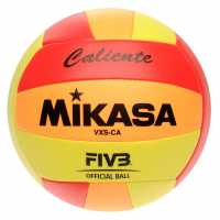 Mikasa Vxs Ca Volleyball Red/Orang/Yellw Волейбол