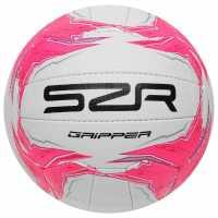 Slazenger Gripper Netball 93 Pink Нетбол