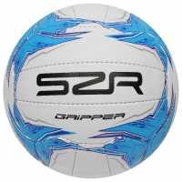 Slazenger Gripper Netball 93 Blue Нетбол