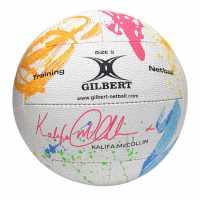 Gilbert Kalifa Nball Sn04 White/Purple Нетбол