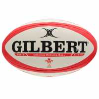 Gilbert Wales Rep Ball92 Red/White Ръгби