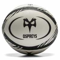Team Ospreys Rgbal White/Black Ръгби