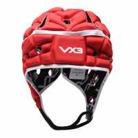 Vx-3 Airflow Rugby Headguard Red Ръгби