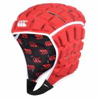Canterbury Reinforcer Rugby Headguard Red Ръгби