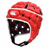 Canterbury Ventilator Headguard Red Ръгби