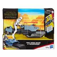 Star Wars First Order Driver And Treadspeeder  Трофеи