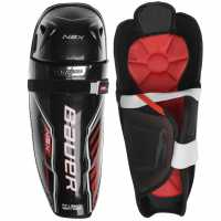 Bauer Протектор За Пищял Хокей Nsx Ice Hockey Shin Guards Black Хокей на лед