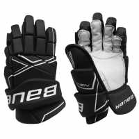 Bauer Nsx Ice Hockey Gloves Black Хокей на лед
