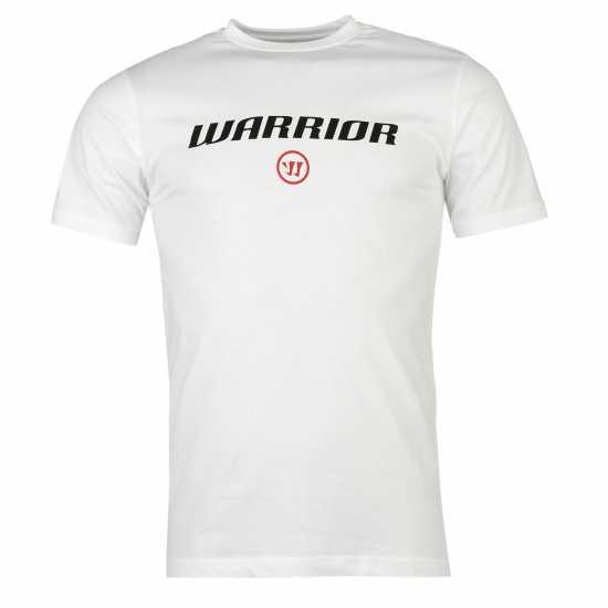 269bc783b85 Warrior Мъжка Тениска Logo T Shirt Mens White Мъжки тениски и фланелки
