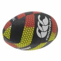 Canterbury Thrillseeker Rugby Ball Red/Black Топки за ръгби