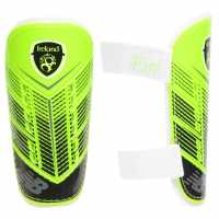 New Balance Протектори За Пищял Ireland Shin Guards Junior Boys Energy Lime/Crk Футболни аксесоари