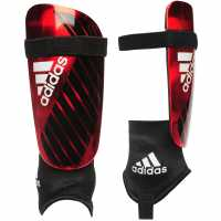 Adidas X Reflex Shinguards Black/Red Футболни аксесоари