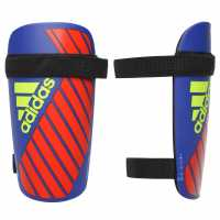 Adidas X Lite Shinguards Blue/Red