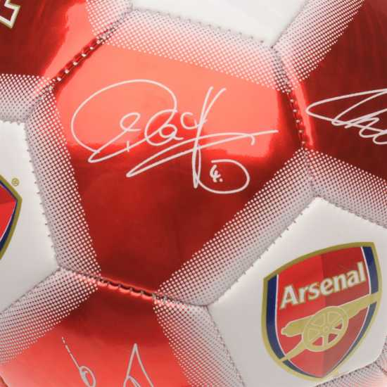 Team Футболна Топка С Автограф Signature Football Arsenal Футболни топки