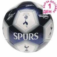 Team Футболна Топка С Автограф Signature Football Spurs Футболни тениски на Арсенал