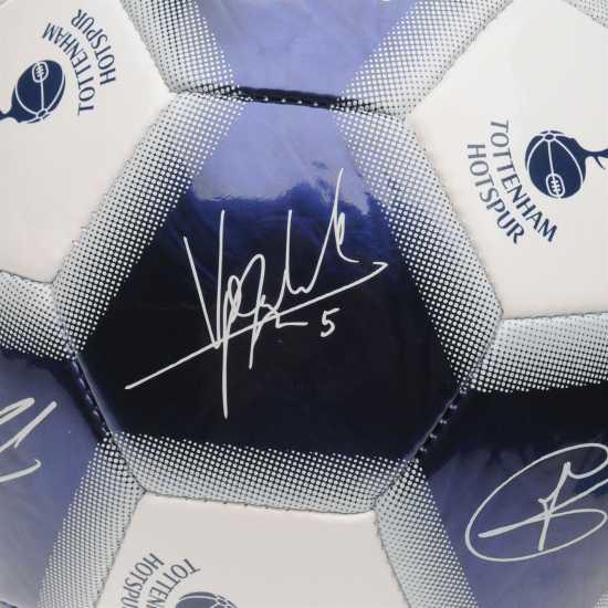 Team Футболна Топка С Автограф Signature Football Spurs Футболни топки