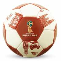 Fifa World Cup Russia 2018 Football White/Red Футболни топки