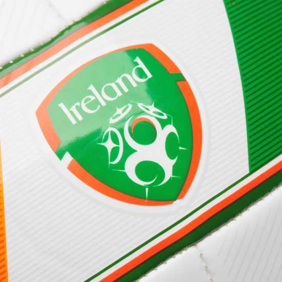 New Balance Ireland Flag Football White/Green Футболни топки