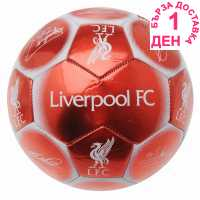Team Футболна Топка С Автограф Signature Football Liverpool Футболни тениски на Арсенал