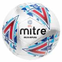 Mitre Delta Replica Football White Футболни топки