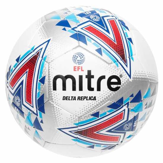 Mitre Delta Leg F Ball 00 White Футболни аксесоари