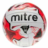 Mitre Tactic Football White/Red Футболни топки
