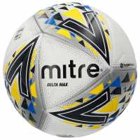 Mitre Delta Max Pro Football White Футболни топки