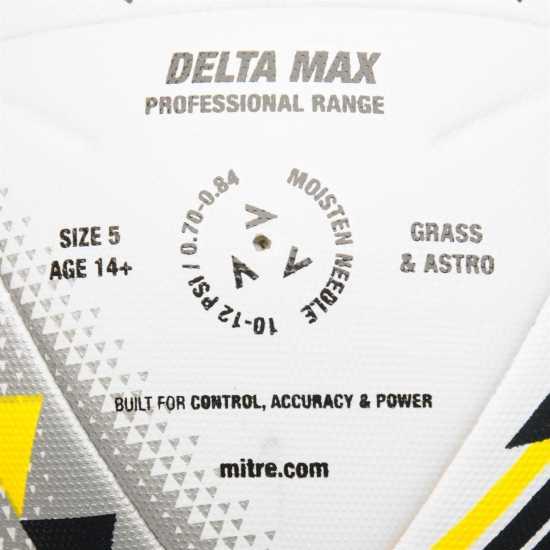 Mitre Delta Max Pro Football White Футболни топки