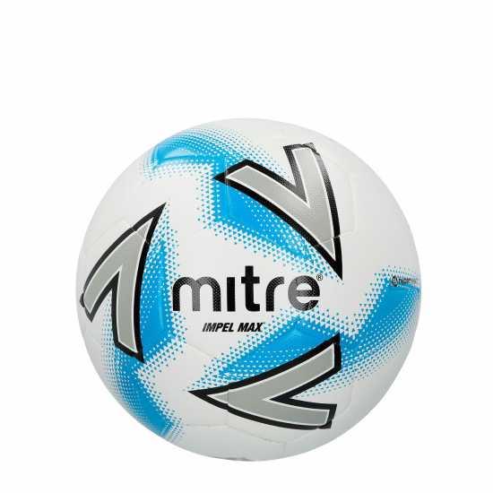 Mitre Футболна Топка Impel Max Football White Футболни топки