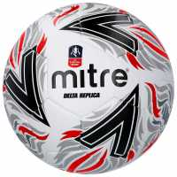 Mitre Delta Replica Fa Cup Football White Футболни топки