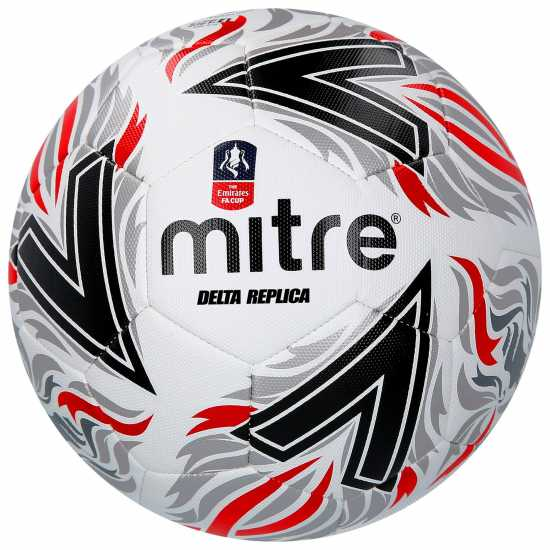 Mitre Delta Replica Fa Cup Football White Футболни аксесоари