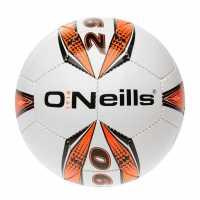 Oneills Pro Series Football White/Orange Футболни топки