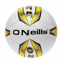Oneills Pro Series Football White/Yellow Футболни топки