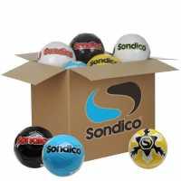 Sondico Футболна Топка Box Of 28 Footballs Multi Футболни топки
