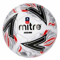 Mitre Delta Mini Fa Cup Football White Футболни топки