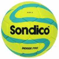 Sondico Футболна Топка Pro Indoor Football Yellow Футболни топки