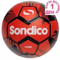 Sondico Футболна Топка Core Xt Football Red/Black Футболни топки