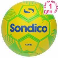 Sondico Футболна Топка Core Xt Football Green/Yellow Футболни топки