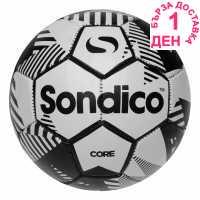 Sondico Футболна Топка Core Xt Football White/Black Футболни топки