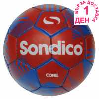 Sondico Футболна Топка Core Xt Football Blue/Red Футболни топки