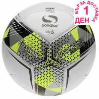 Sondico Fusion Fifa Football White Футболни топки