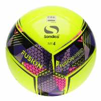 Sondico Fusion Fifa Football Yellow Футболни топки